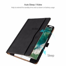 Book Flip Smart Leather Case Cover With Built-in Magent And Sleep Awake For Apple iPad Pro 10.5""