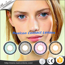 3-tone beautiful cosmetic magic color soft contact lens