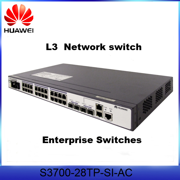 HUAWEI S3700-28TP-SI-AC Ethernet Industiral switch S3700 100 Mbit/s Fast Ruggedcom Ethernet Switch