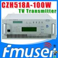 CZH6518A-100W Single-channel Analog TV Transmitter UHF 13-48 Channel usb tv transmitter