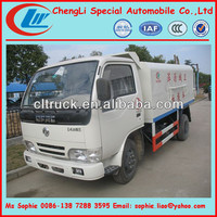 dongfeng mini skip garbage loader truck,self loader trucks for sale,garbage truck winch