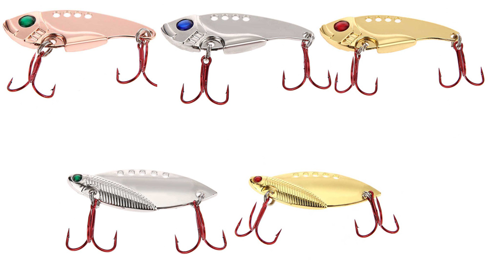 Outdoor Fishing Lures Crank Bait with 2 Hook Artificial Bait