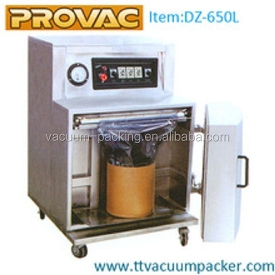 modified atmosphere automatic food vacuum packing machine