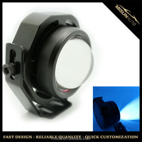 "High Power 3.0"" Car Projector Xenon White LED Fog Light w/ COB Angel Eyes Halo Ring"