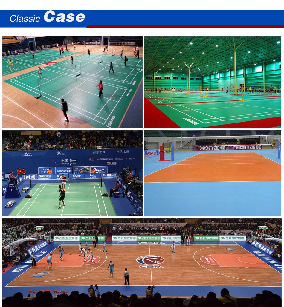 Hot Sell for Basketball court( official supplier by CBA)