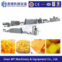 People's preferred healthy food corn flakes machine / corn chips making machine