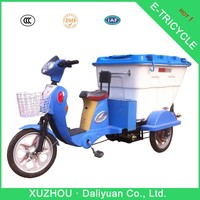 electric garbage three wheel car 250cc three wheel atv