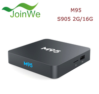 2017 New Arrival Android 5.1 TV Box M95 2GB 16GB Amlogic S905 Android 5.1 TV Box movie free download M95