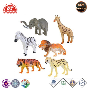 Plastic farm animal models