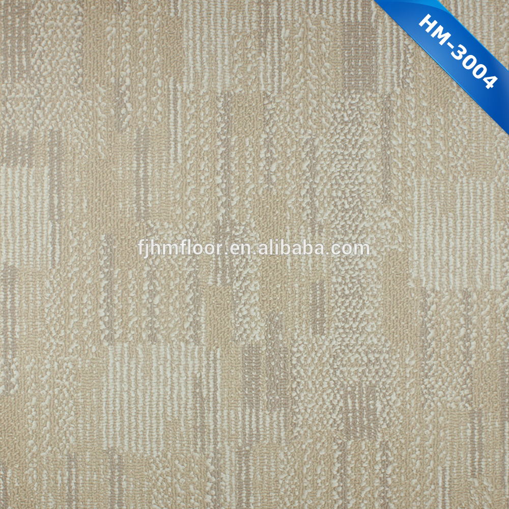 HM-3004 Modern Luxurious <strong>pvc</strong> tile flooring that looks like grass