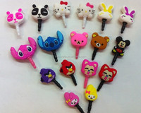 Wholesale Cute Cell Phone Dust Plugs Anti Dust Plug For Smartphone