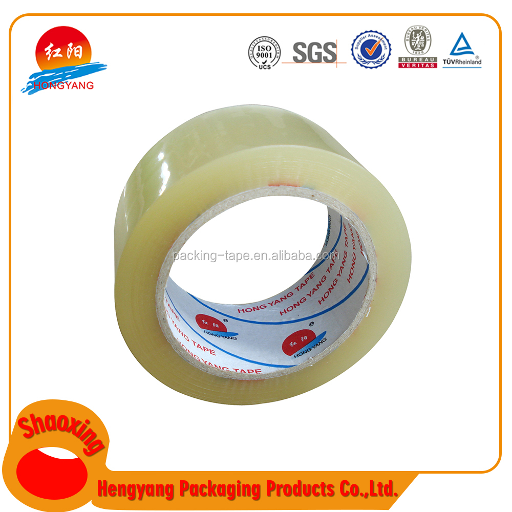 2017 New Deisgn Cheap Packaging Branded Sellotape Clear Packing Tape Adhesive Cello With Acrylic