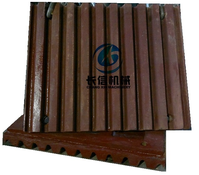 Long Wear Life High Manganese Steel Jaw Crusher Parts Jaw Plate