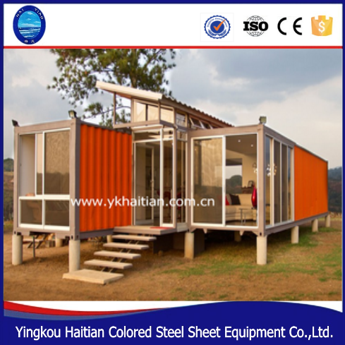 used vacations sandwich panel luxury prefabricated house modern design decoration furniture fast construction house