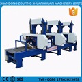 Multiple Heads Horizontal Mobile Band Sawmill in china