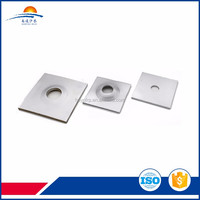 Plate and nut for FRP hollow self-drilling bolt