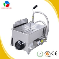 High quality electric filter cart,kitchen oil filter,cooking kitchen oil filter