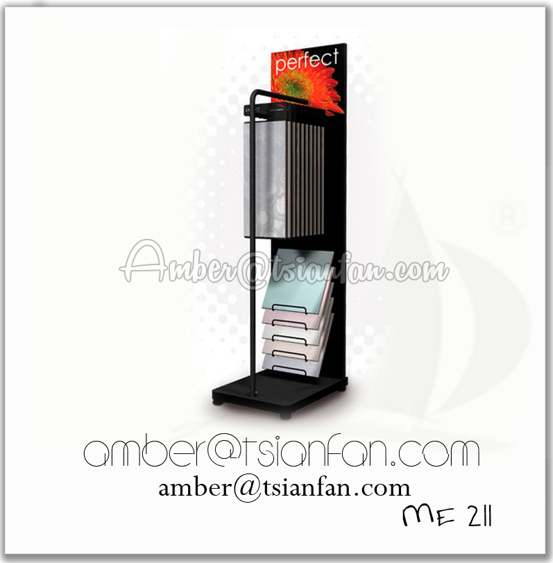 Ceramic Tile Hanging Display Stand Rack - Tsianfan ME211