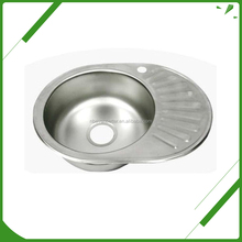 Factory price single bowl stainless steel kitchen sink cabinet