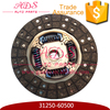 31250-60500 Factory Wholesale Cast Iron Made Clutch Disc For Toyota Prado TRJ150 Coaster TRB40/TRB50 On Alibaba China.Com