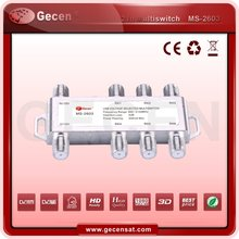 2 in 6 out multisiwtch 2*6 multiswitch diseqc 1.0