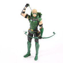 Best Selling Customize Cute Plastic Miniature Green Arrow Action Figure Wholesale Toys From China