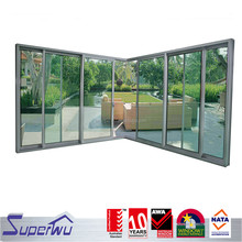 China suppliers powder coated fabrication of aluminum sliding windows and doors