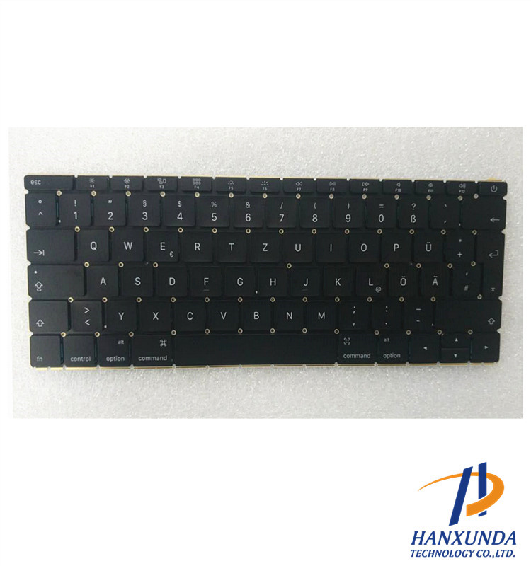 "100% New original DE/GR version keyboard Early 2015 year for rMBP pro Retina 12"" A1534 Germany keyboard"