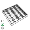 High Quality T8 Fluorescent Grill Louver fixture round edge light fitting