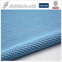 Jiufan textile jacquard fabric men's pant and coat design polyester men coat