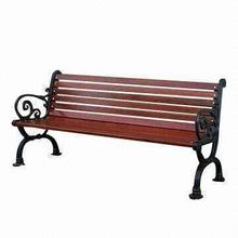 china manufacture outdoor wood plastic composite Wpc Garden Bench