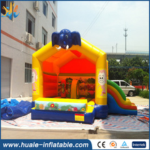 New Design Commercial Cheap outdoors Inflatable big elephant Bouncer with slide