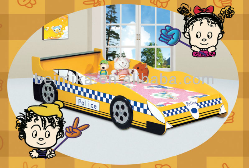 Kids Furniture Police Car Bed Sport Car Beds