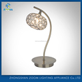 2016 K9 crystal ball modern fashion crystal shade table lamp with best hot sell low price for bedside decoration
