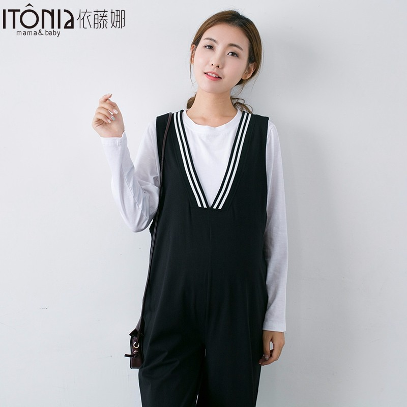 Nice looking cute spring onesie maternity plus size formal pregnant ladies office nursing dresses