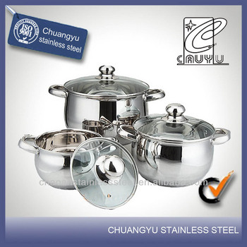 Stainless steel stove well equipped kitchen cookware buy for Buy kitchen cookware