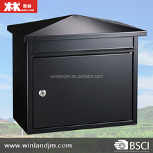 waterproof wall mount mailbox Galvanized steel mailbox letterbox