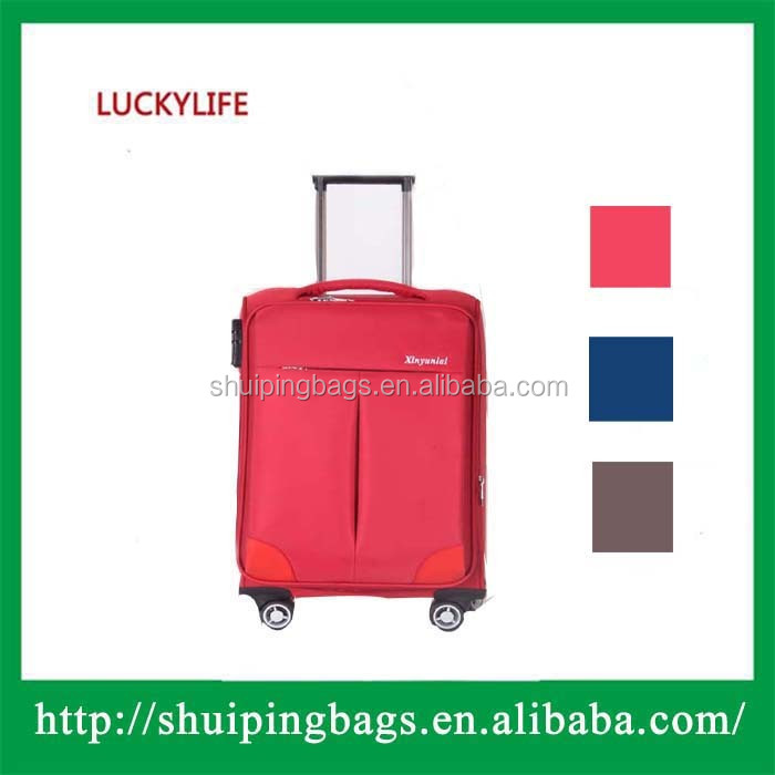 Standard suitcase size large suitcase for girls blue luggage in hot sale