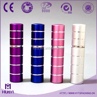 hot sale 5ml elegant aluminium refillable perfume atomizer