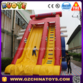 Professional supplier giant inflatable water slide for adult, inflatable jumping slide
