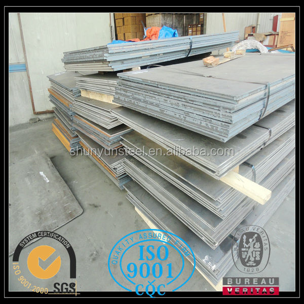 Made in China bulletproof steel plate for engineering construction