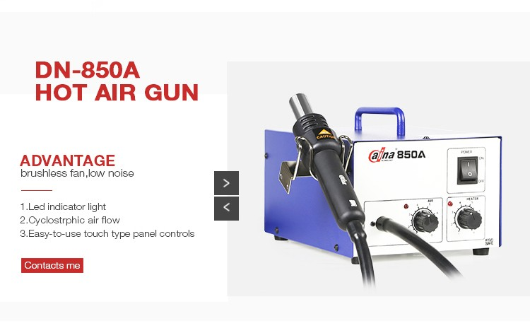 Wholesale Daina Hot Air Soldering Gun BGA Soldering Rework Station DN 850A SMD Rework Station Mobile Phone Soldering Iron