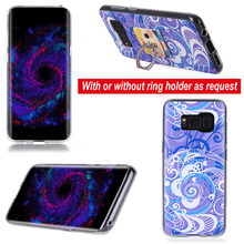 Tpu pc combo cell phone case For for Samsung galaxy S8