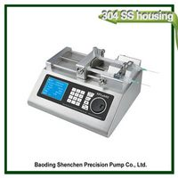 ISO custom newest hot sell polymer materials syringe pump