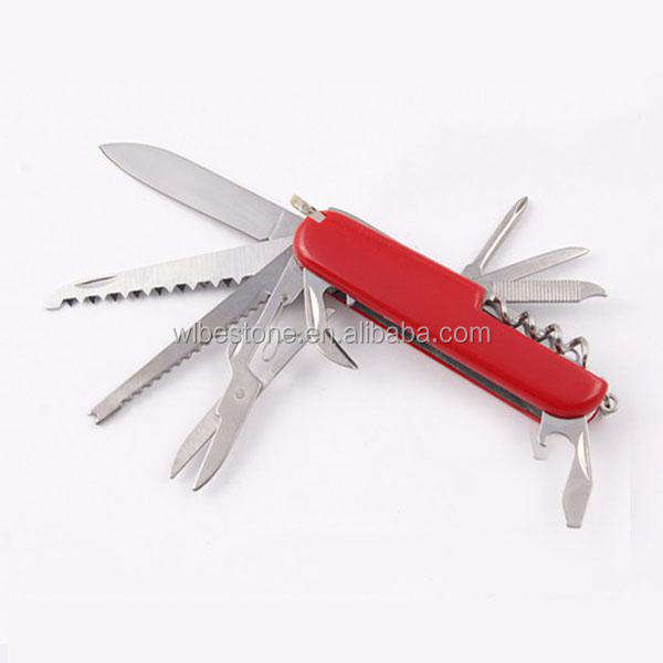 11 in 1 promotion gift chinese mini multi function knife outdoor knife