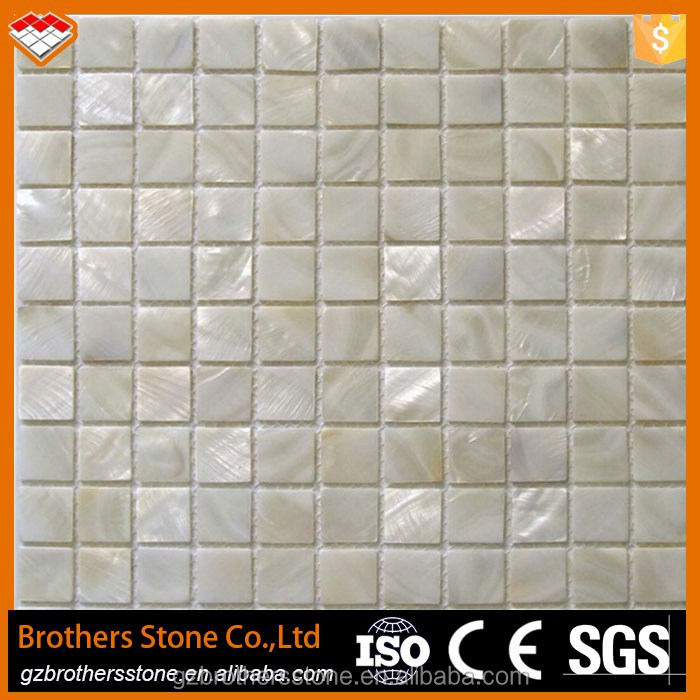 Mother of pearl sea shell mosaic kitchen backsplash mosaic wall tile