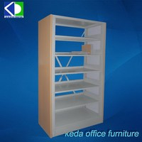 Combined Metal Horizontal Bookcase For Office