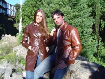 Leather Jackets 7 / 8 Man And Woman