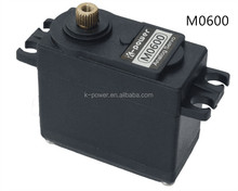 M0600 rc plane brushed motor/standard analog metal gear motor/rc servo