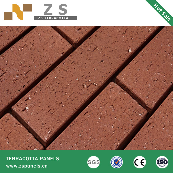 Terracotta tile Terracotta panel Decorative interior Exterior Floor Red Brick Pavers HERO USING NEWEST TYPES